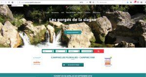 site du Camping Les Floralies à Montauroux